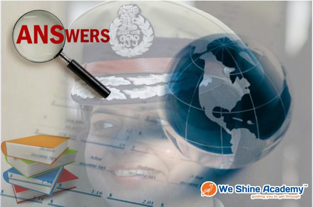 Police Exam Answer Key
