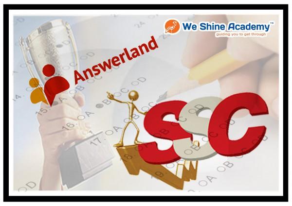 We Shine SSC Answer key